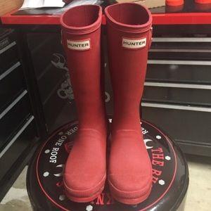 Hunter boots Girls